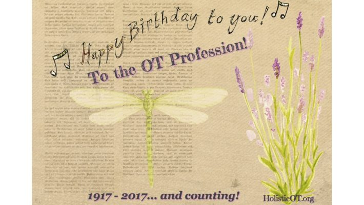 Happy Birthday to the OT Profession!