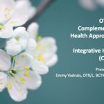 New AOTA Course: OT with Complementary Health Approaches and Integrative Health