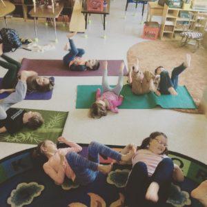 Michelle Bonang Holistic OT Meet a HOT Practitioner childrens yoga child