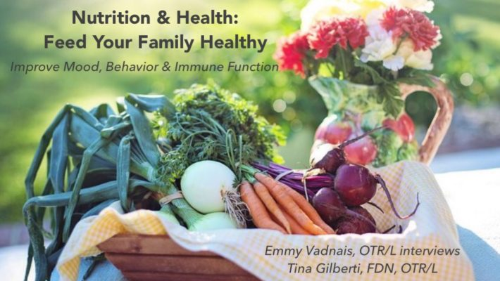 New Podcast – Nutrition & Health: Feed Your Family Healthy