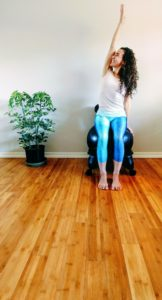 Jahara specializes in accessible yoga