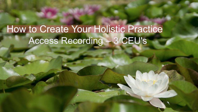 Holistic Practice Class