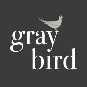 Gray bird yoga
