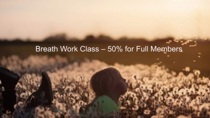 Breath Work Class Recording – 50% Off for Full Members