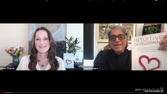 Deepak Chopra Interviews Emmy Vadnais – How to Trust Your Inner Knowing