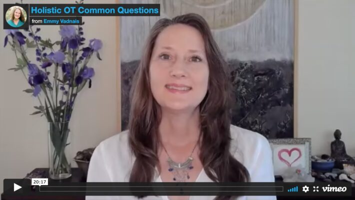 Where to Start with OT and Integrative Health